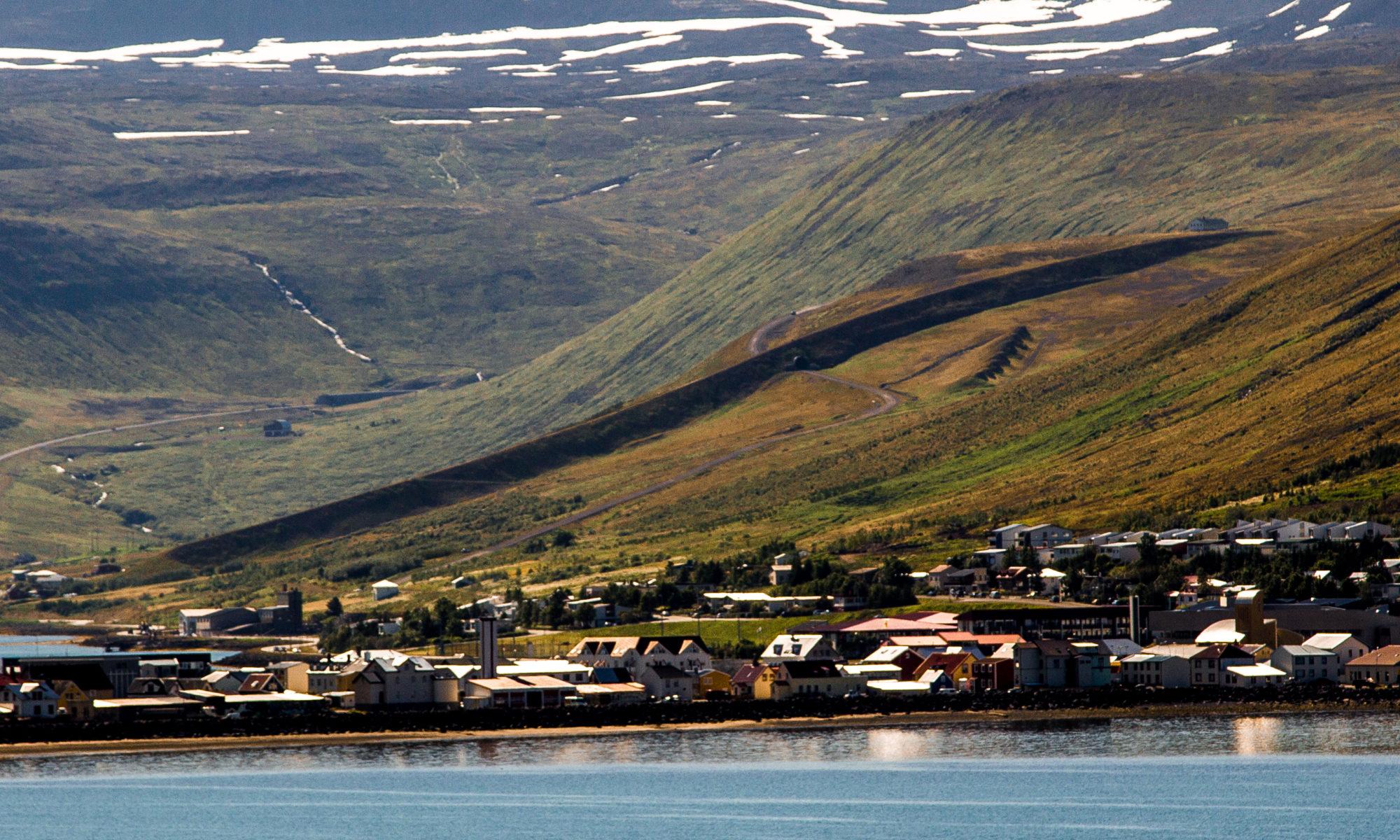 Deflecting dam Seljaland
