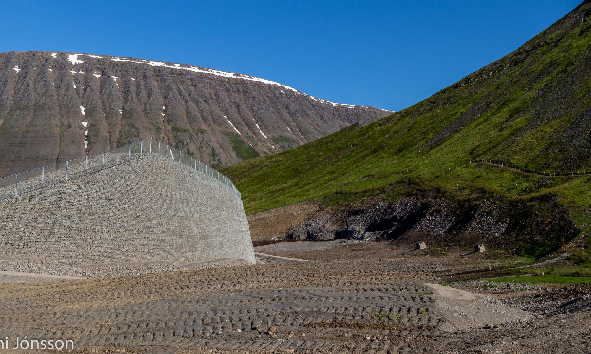 Kubbinn catching dam
